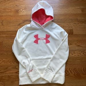 Under Armour youth XL fleece hoodie AWESOME!